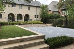 Residential Backyard in Texas