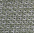 Knitted flow-through backing