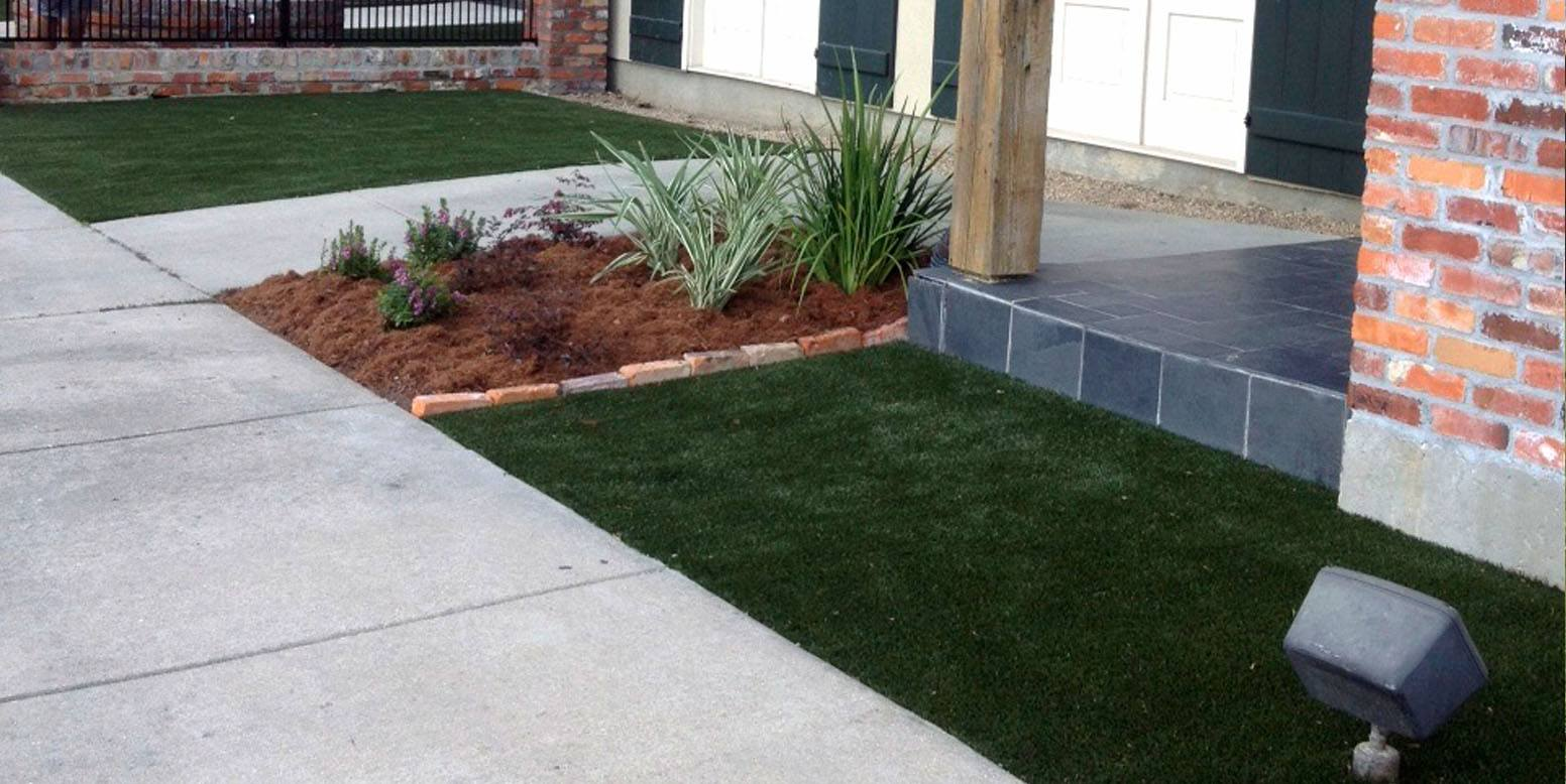Sherwood South Animal Hospital in Baton Rouge featuring K9Grass by ForeverLawn