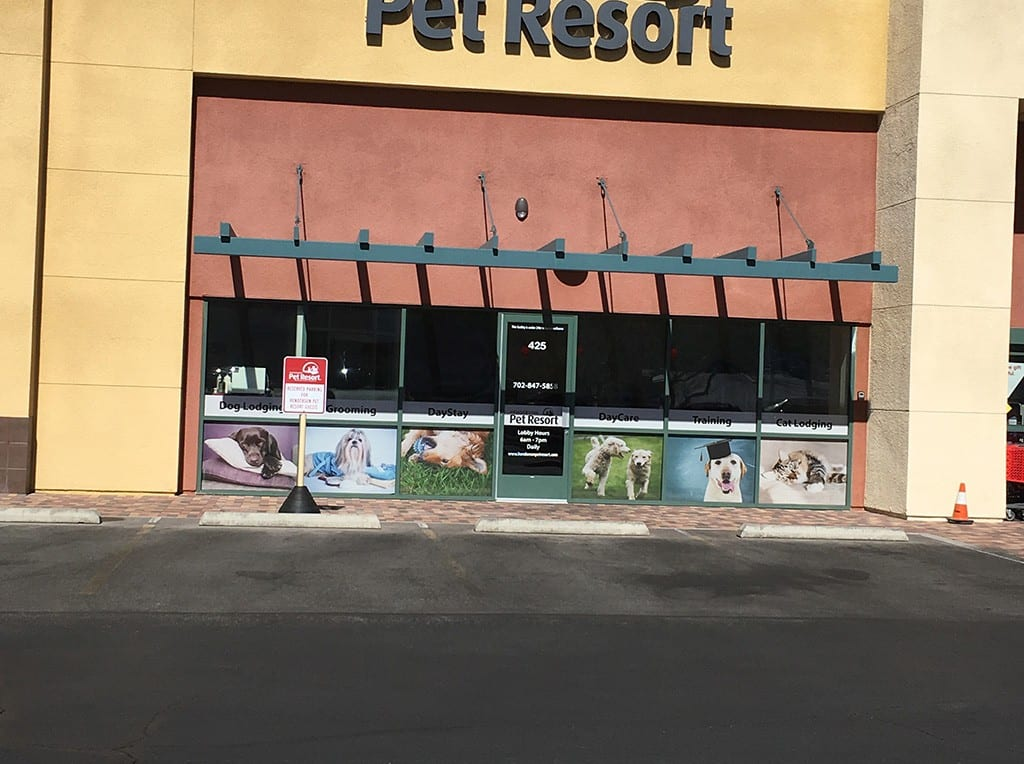 Henderson Pet Resort business front view