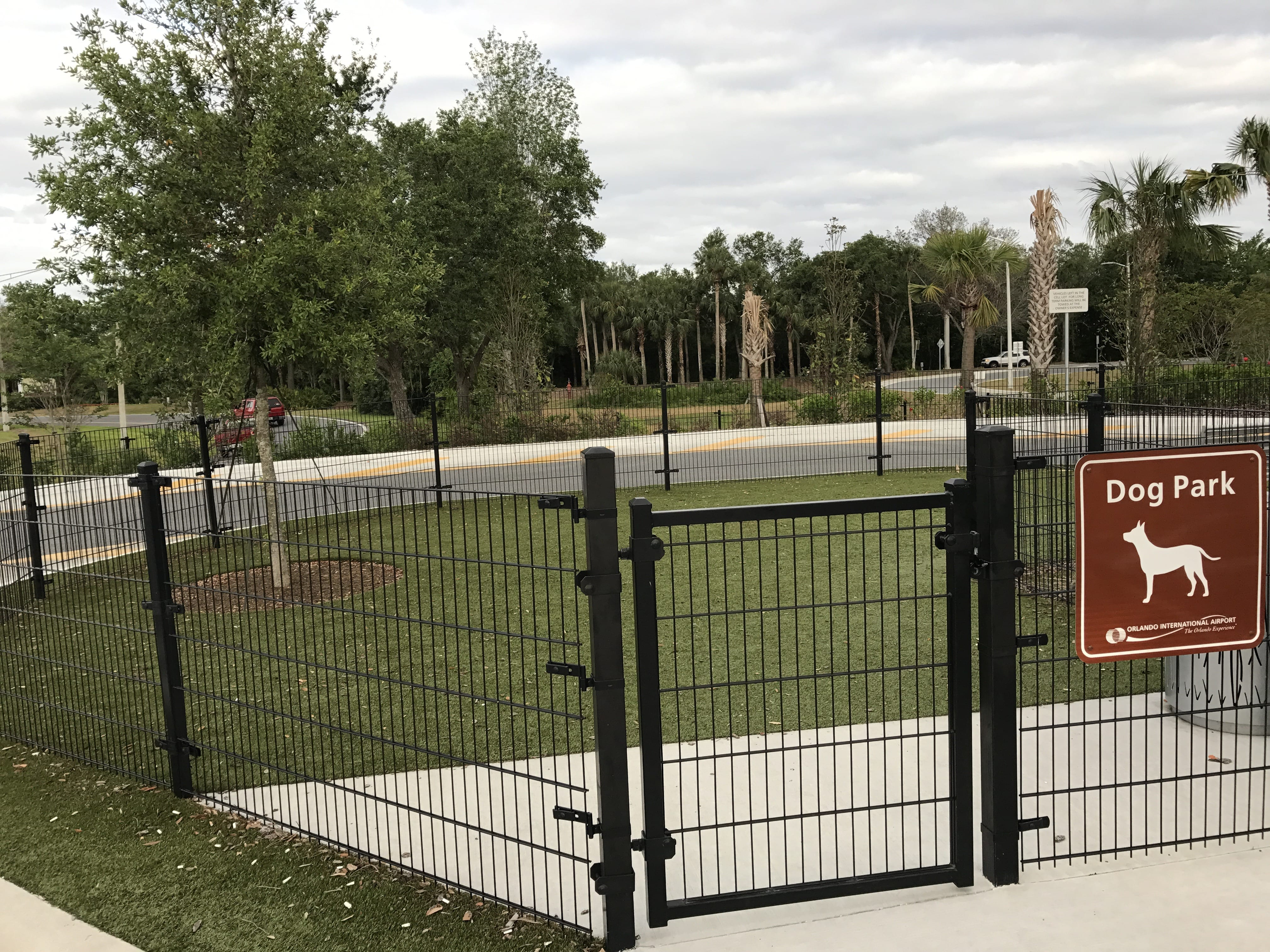 Orlando International Airport Dog Park with K9Grass""
