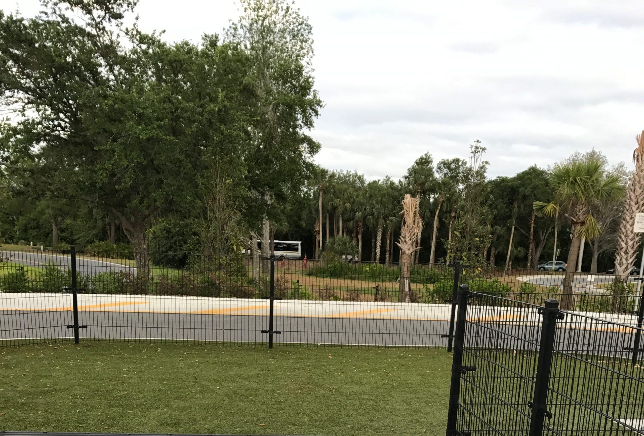 Orlando International Airport Dog Park with K9Grass