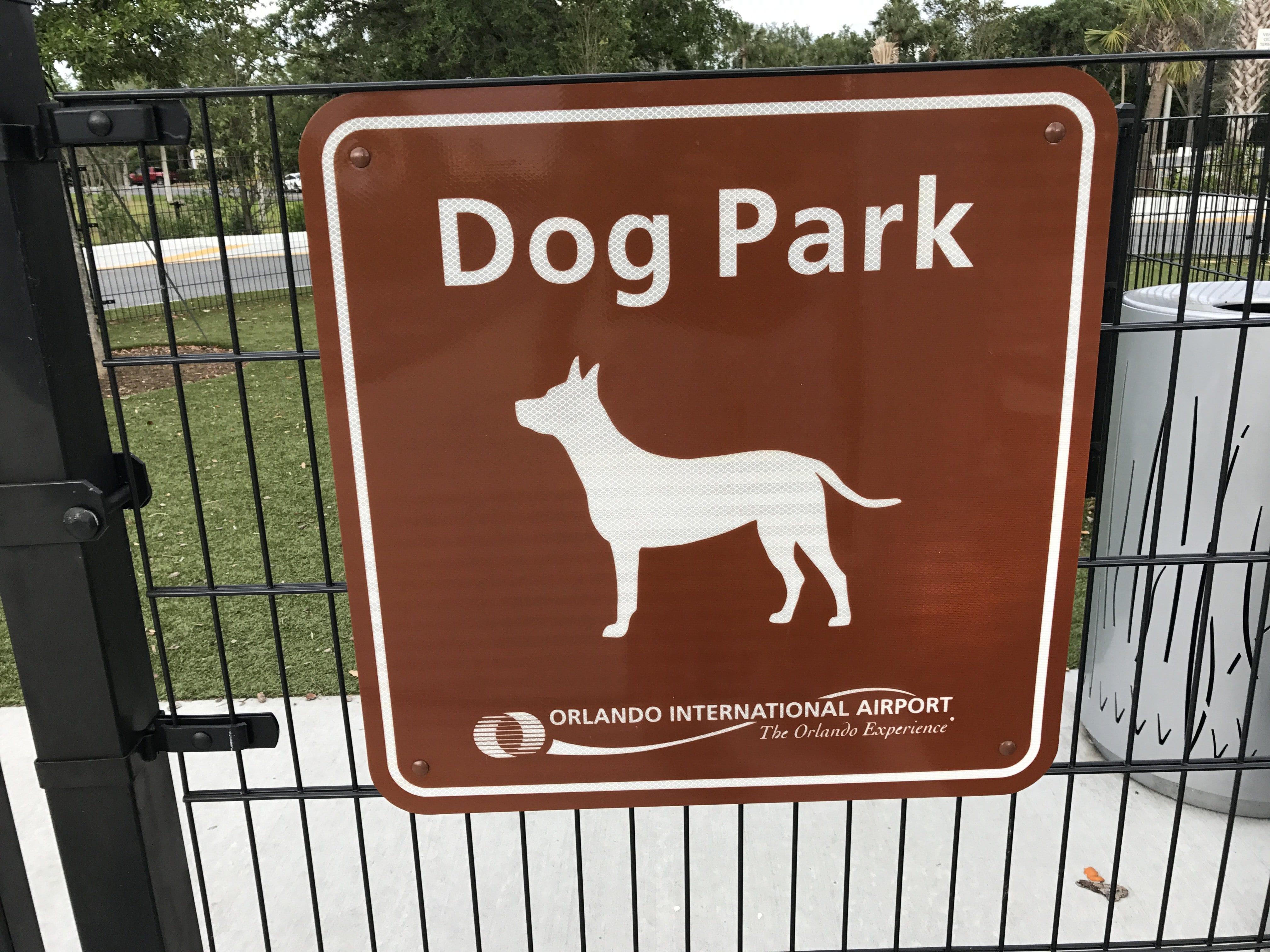 Orlando International Airport Dog Park