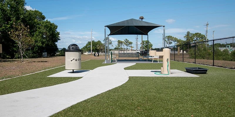 Northwest Dog Park in Tampa, Florida featuring K9Grass by ForeverLawn