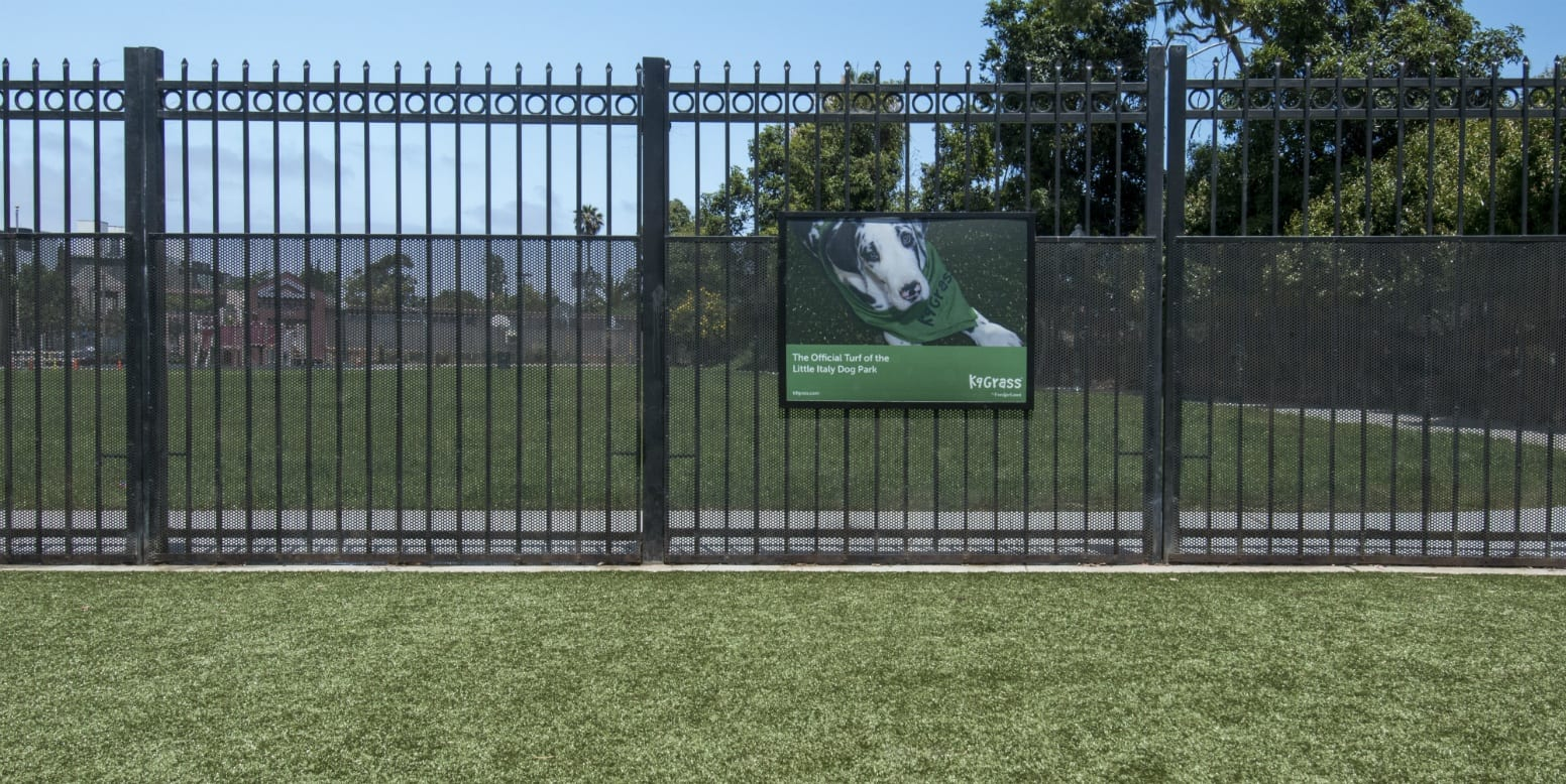 Little Italy Dog Park with K9Grass
