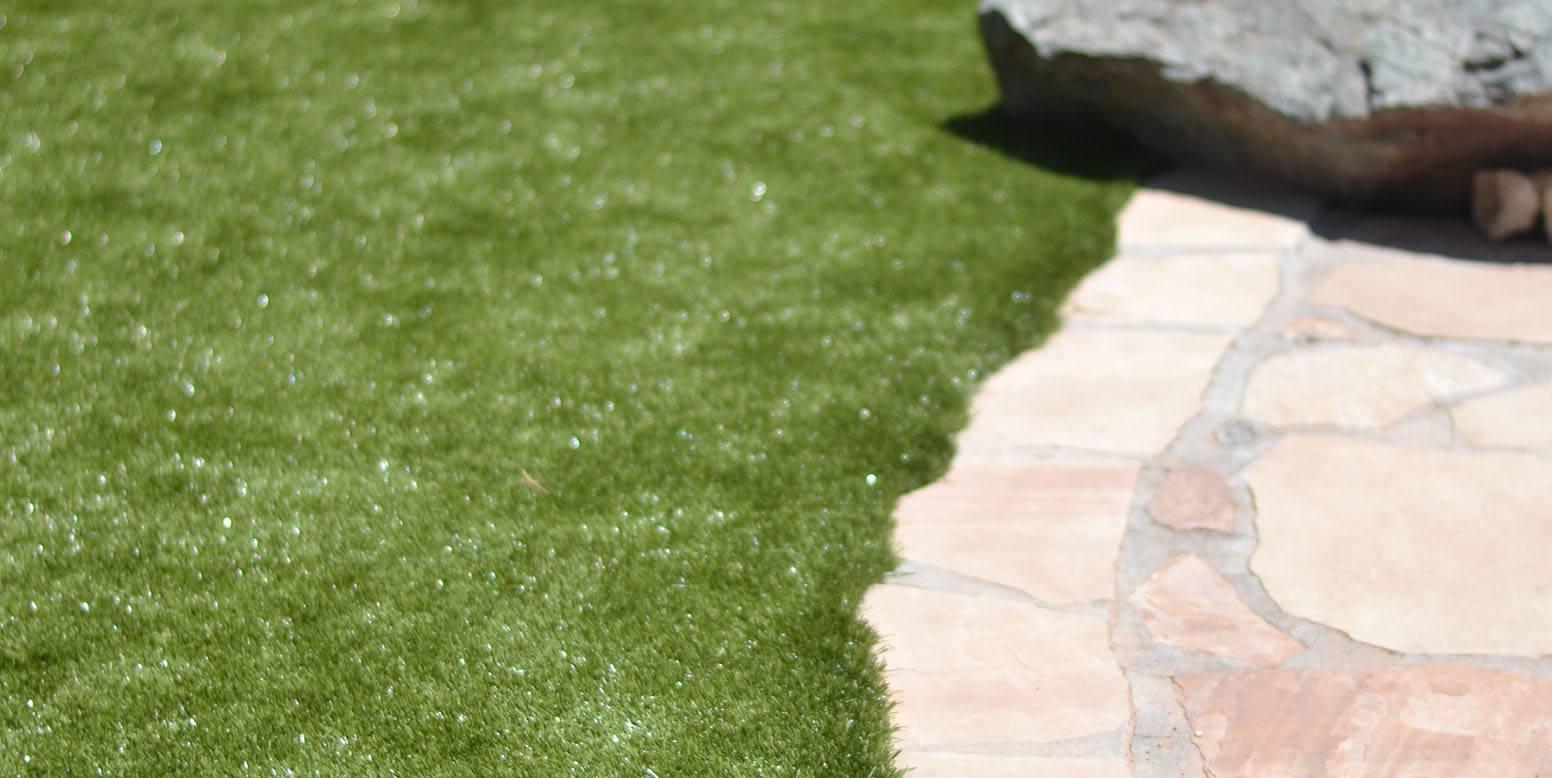 Phoenix, Arizona, backyard featuring K9Grass Classic by ForeverLawn