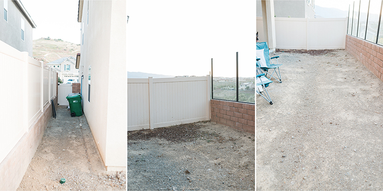 Project photos of Nataly Hernandez' backyard
